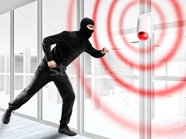 Alarm for stealing a thief Stock photo © alphaspirit
