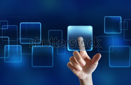 Touchscreen display Stock photo © alphaspirit