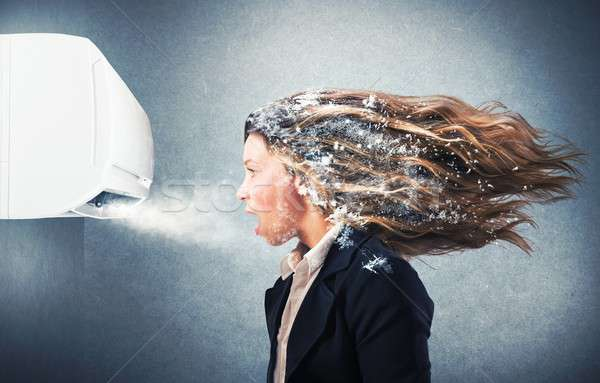 Stock photo: Powerful air conditioner