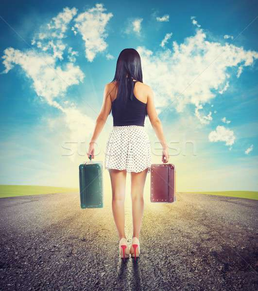 Stock photo: Traveling without a destination