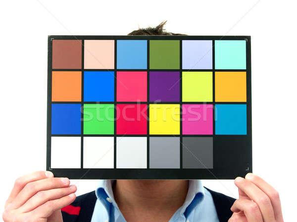 Color checker Stock photo © alphaspirit