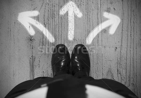Choices of a businessman Stock photo © alphaspirit