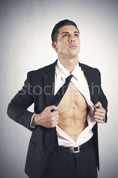Business in action Stock photo © alphaspirit