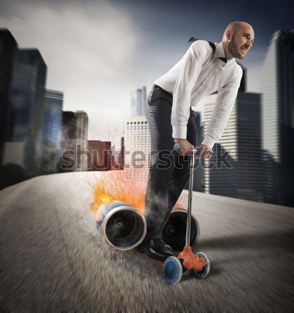 Walking on a bomb Stock photo © alphaspirit
