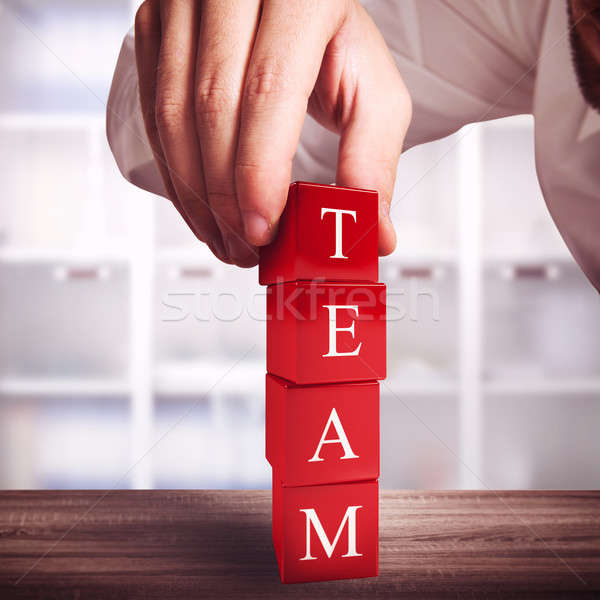 Building a team Stock photo © alphaspirit