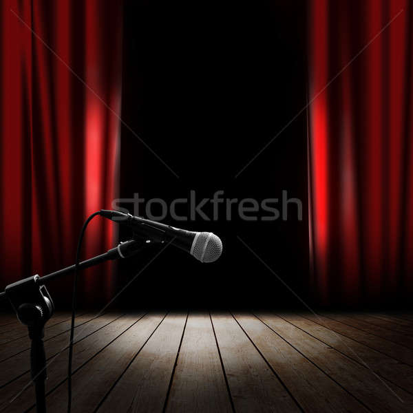 Musical stage Stock photo © alphaspirit