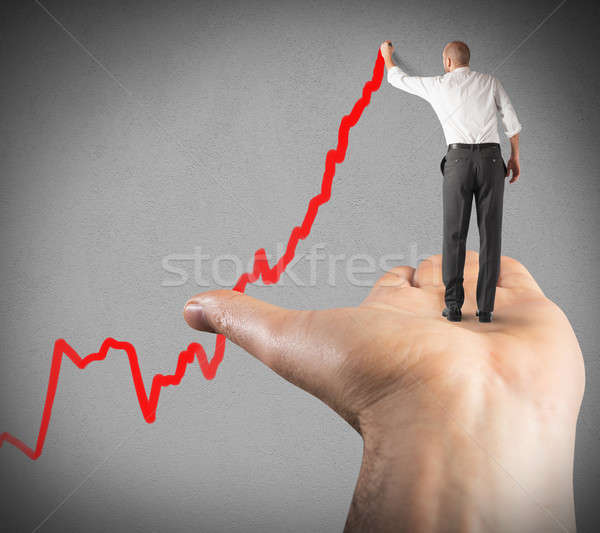 Support for success Stock photo © alphaspirit