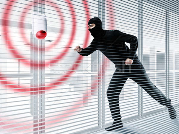 Alarm for stealing a thief Stock photo © alphaspirit