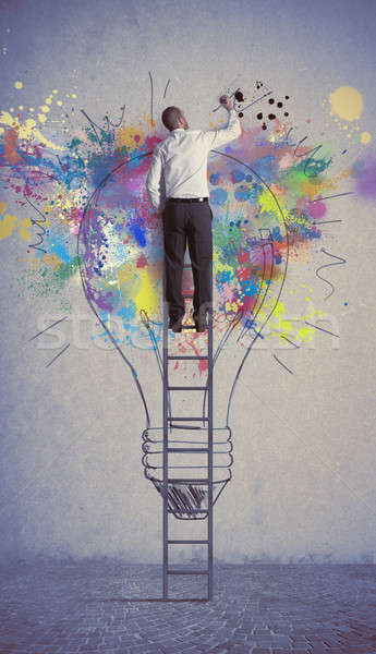 Creative business idea Stock photo © alphaspirit