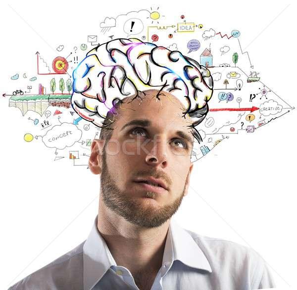 Formulate new ideas Stock photo © alphaspirit
