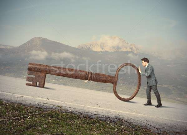 Key to success Stock photo © alphaspirit