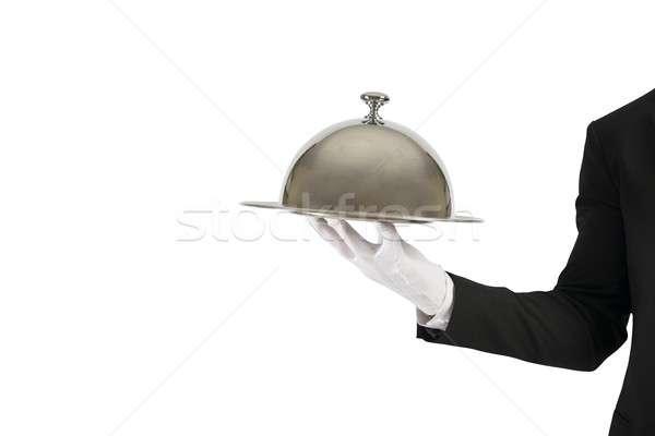 Első osztály szolgáltatás üzlet munka üzletember szakács Stock fotó © alphaspirit