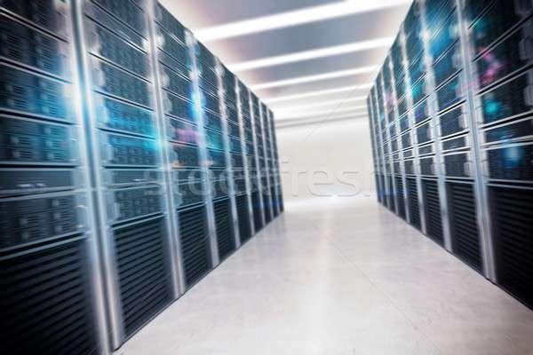 Veritabanı yapı sanal oda bilgisayar güvenlik Stok fotoğraf © alphaspirit