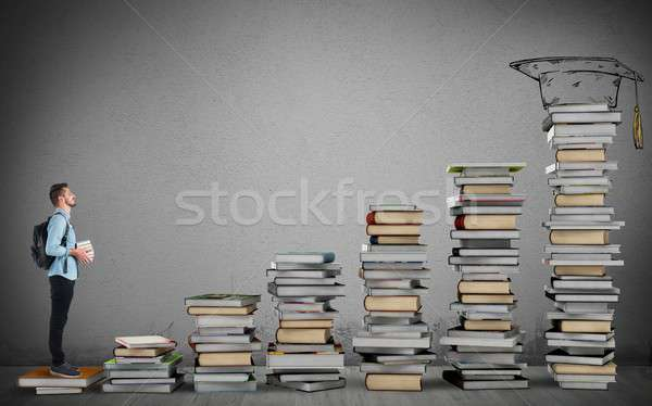 Degree course Stock photo © alphaspirit