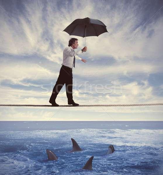 Insurance concept Stock photo © alphaspirit
