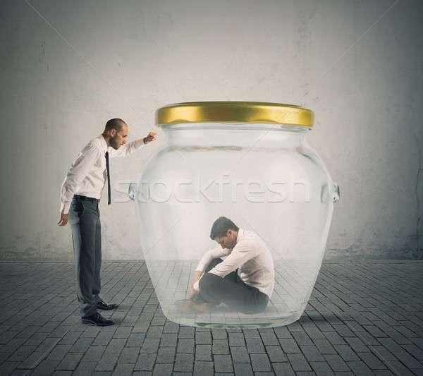 поддержки бизнеса проблема бизнесмен помочь коллега Сток-фото © alphaspirit