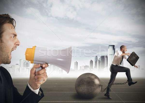 Mobbing rush Stock photo © alphaspirit