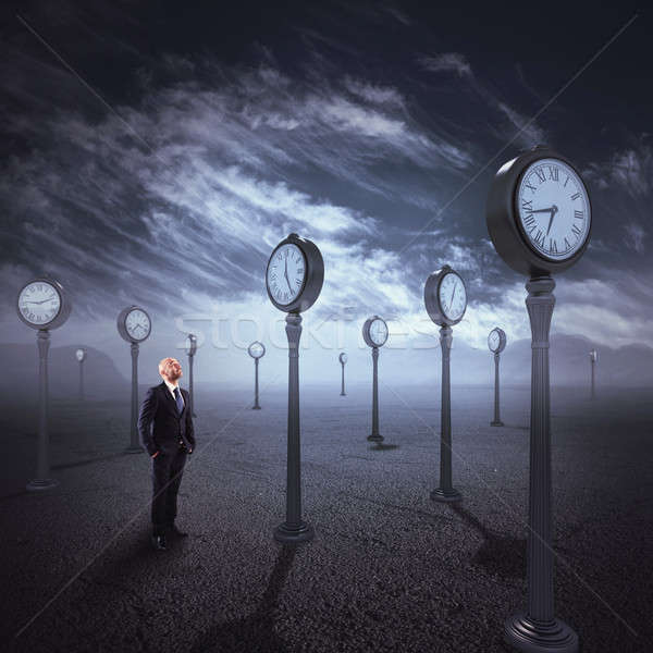 Observe the passage of time Stock photo © alphaspirit