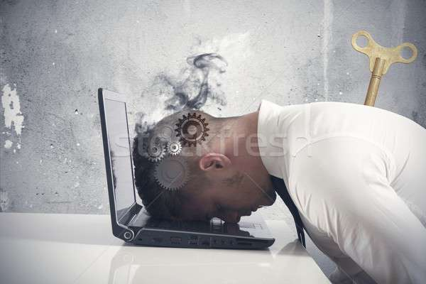 Difficulty in business Stock photo © alphaspirit