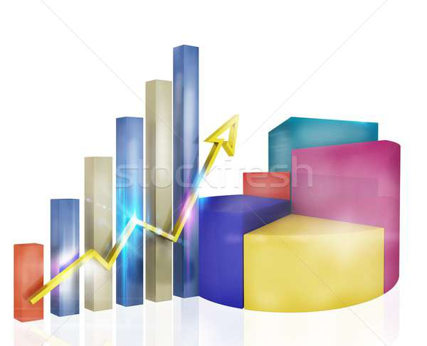 Analysis of profit Stock photo © alphaspirit