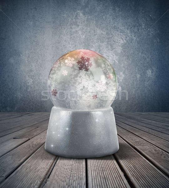 Snow sphere Stock photo © alphaspirit