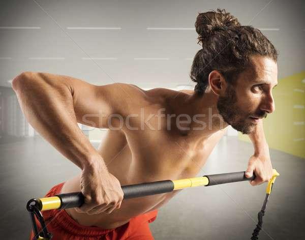 Determination in training Stock photo © alphaspirit