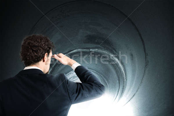 Get out of the tunnel Stock photo © alphaspirit