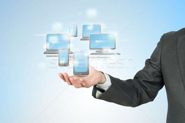 New technology concept Stock photo © alphaspirit
