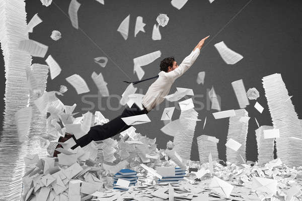 Escape from bureaucracy Stock photo © alphaspirit