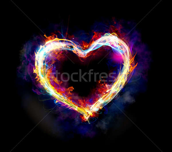Light heart Stock photo © alphaspirit