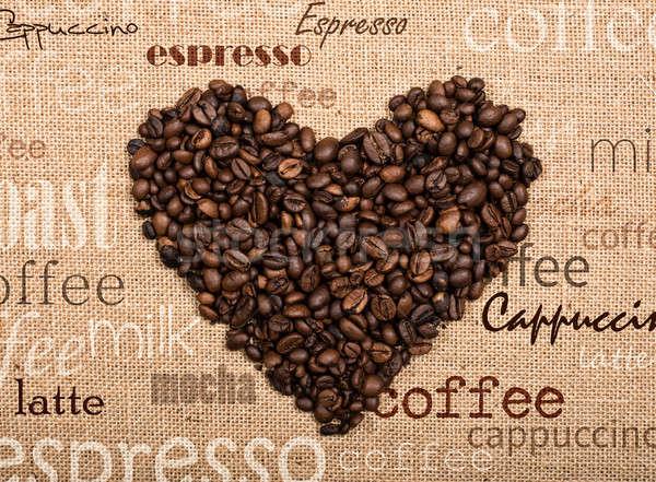 Love coffee Stock photo © alphaspirit
