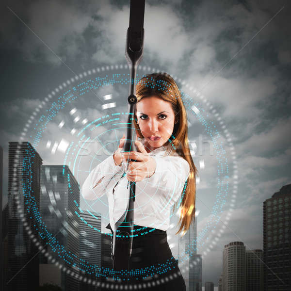 Determination and ambition Stock photo © alphaspirit