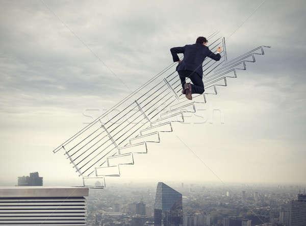 Build a successful career Stock photo © alphaspirit