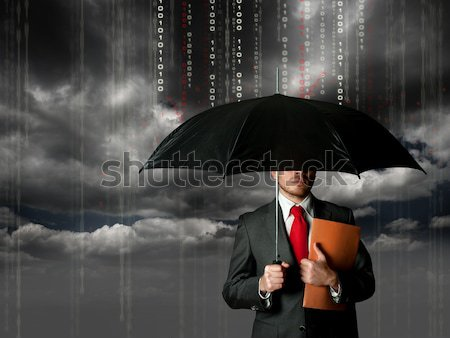 Antivirus and firewall concept Stock photo © alphaspirit