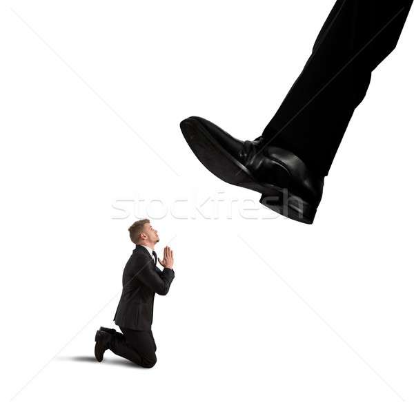 Stock photo: Fired by the boss