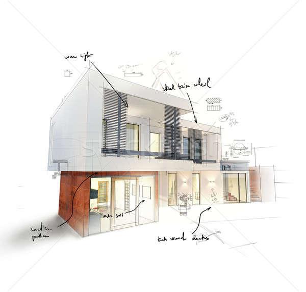Home project Stock photo © alphaspirit
