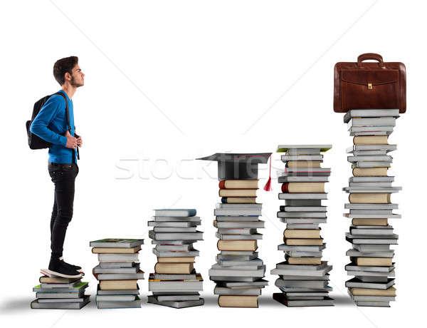 Graduate and find work Stock photo © alphaspirit