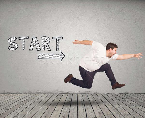 Ready to start Stock photo © alphaspirit