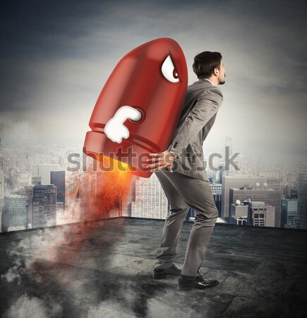 Power and aspiration Stock photo © alphaspirit