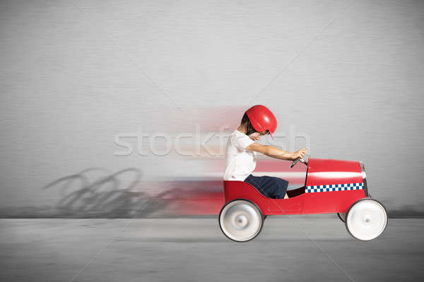 Speedy car toy Stock photo © alphaspirit