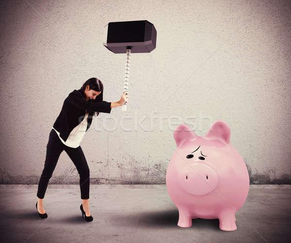 Need savings Stock photo © alphaspirit