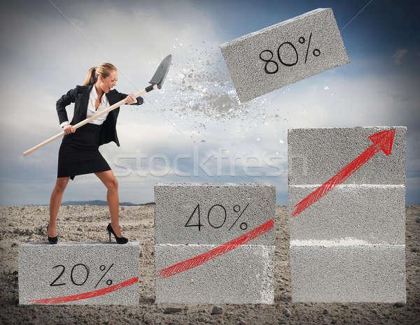 Believe in economic recovery Stock photo © alphaspirit