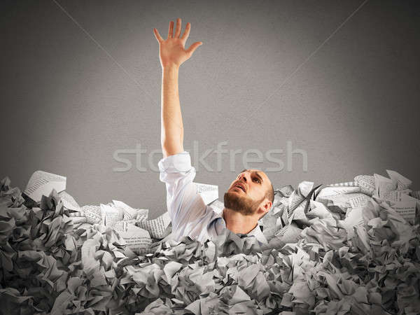 Drown between worksheets Stock photo © alphaspirit