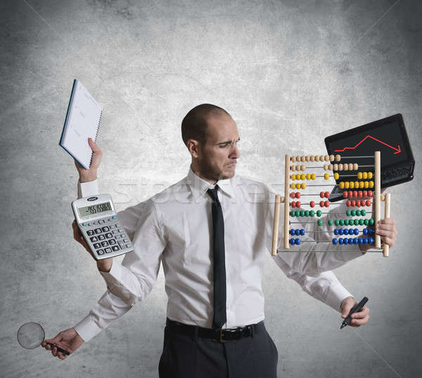Calculations and crisis Stock photo © alphaspirit