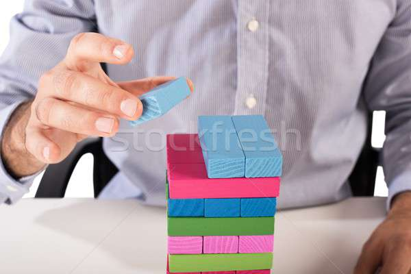 Strategy business toy Stock photo © alphaspirit