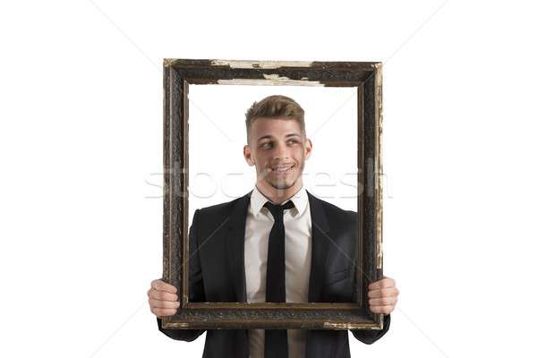 Framework in business Stock photo © alphaspirit