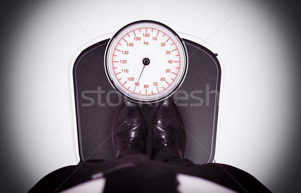 Weight on the scale Stock photo © alphaspirit