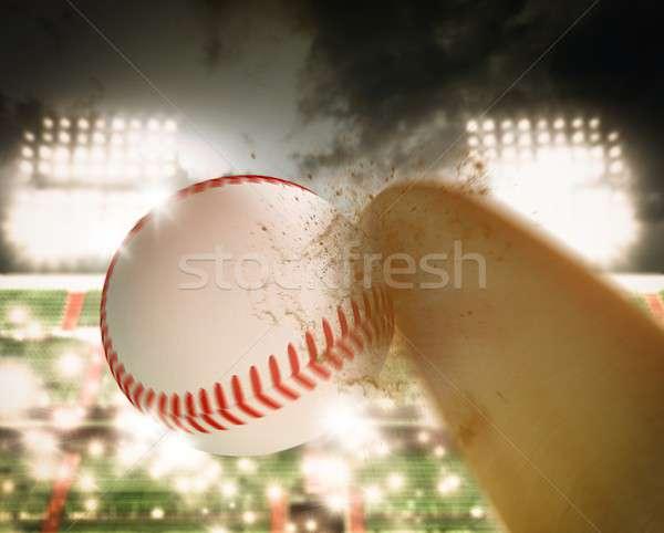 Baseball match Stock photo © alphaspirit