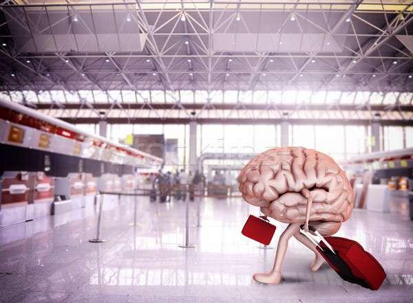 Brain escape Stock photo © alphaspirit