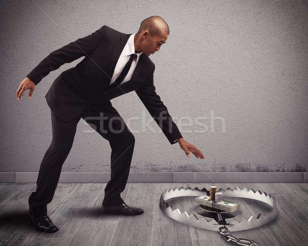 お金 トラップ ビジネスマン 安全 経済 アカウント ストックフォト © alphaspirit